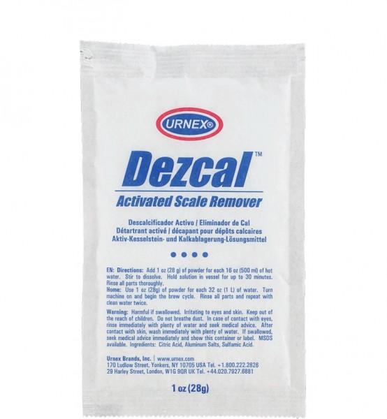 Odvápňovací prostředek URNEX Dezcal 28 g - práškový, 10 ks v balení