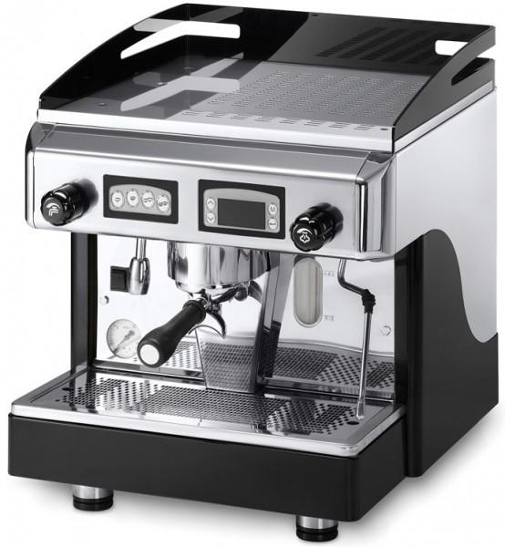 Profesionální jednoskupinový kávovar s dotykovým ovládáním a kontrolním displayem Italské výrobní značky Astoria MCE TouchR SAE1 Display
