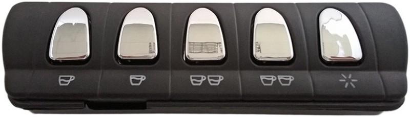 Panel ovládacích tlačítek kávovaru La Spaziale S5 a S5 Compact, mikrospínačové, 5 tlačítek