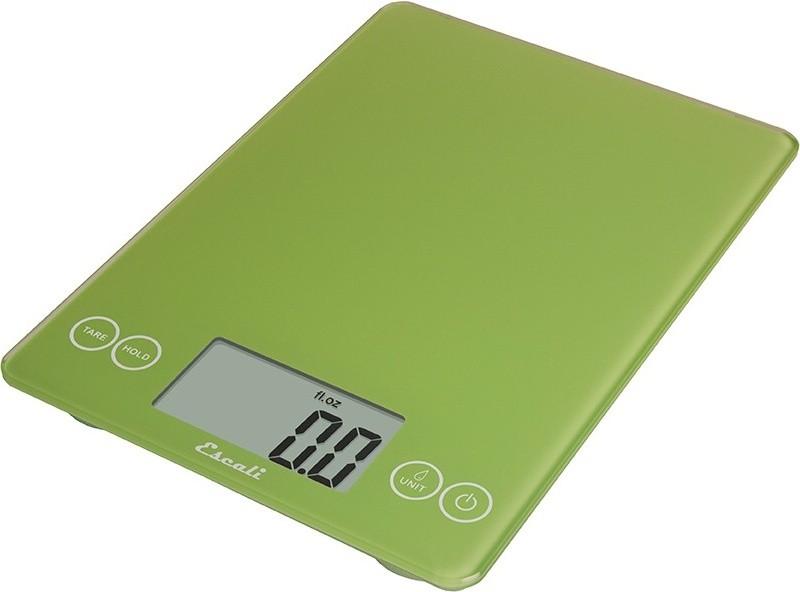 Digitální horizontální váha ESCALI v provedení GREEN s váživostí 0g - 7000g/15LB/248OZ a přesností vážení 1g