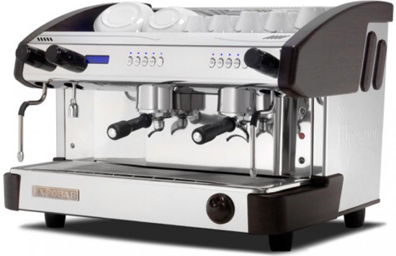 Profesionální kávovar Expobar New Elegance Display Mini Control EVD 2gr - nejvyšší provededení Elegance Wood