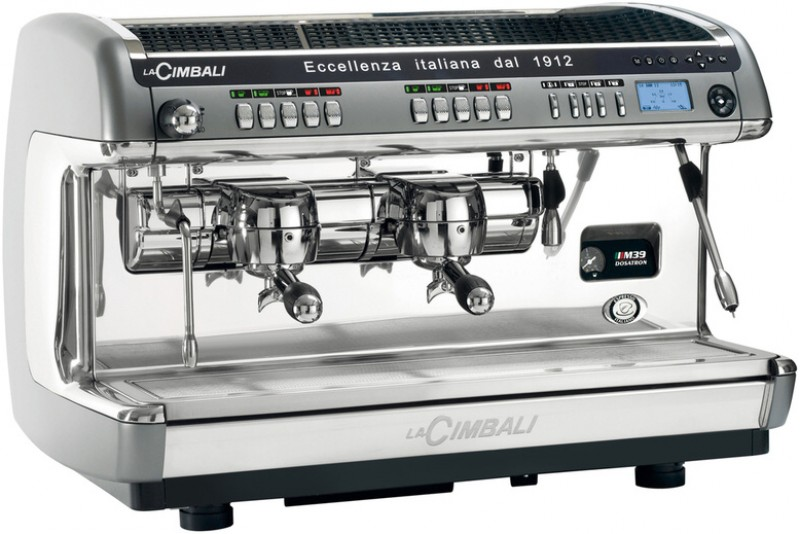 Profesionální kávovar La Cimbali M39 TE Dosatron Turbosteam Milk4 Display 2 gr