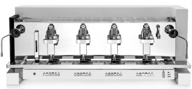 Profesionální kávovar Vibiemme 1961 Cube HX 4gr Elettronica