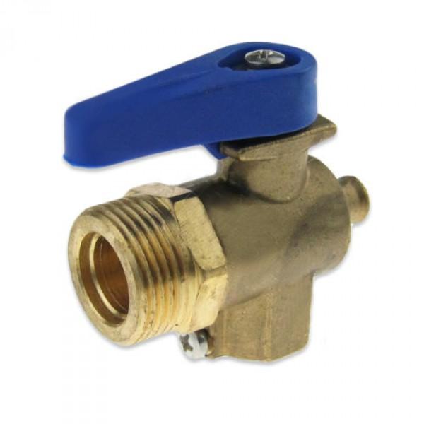 """DVA - ventil (uzávěr) vstupu a výstupu vody změkčovače pro modely LT s připojením ø 3/4"""""""