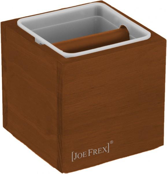 Odklepávací nádoba na kávu  Concept-Art Joe FREX KNOCKBOX Classic Brown, materiál dřevo, barva lakované dřevo hnědé