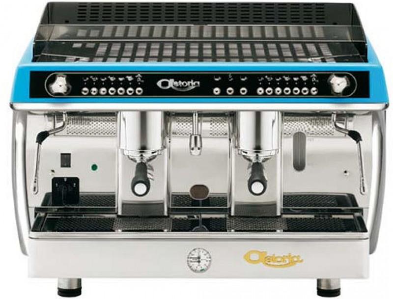 Profesionální kávovar Astoria Gloria Volumetric SAE 2 gr Blue Metallic - zakázkový kus v maximální výbavě