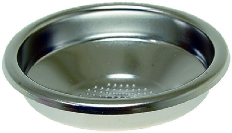 """IMS MASYSL 1T H21.5 M precizní filtrační miska jednoporcová """"The Single"""" pro LA MARZOCCO, velikost dávky 8g, H21.5, Aisi 304 Stainless Steel, Food Safe Certified, odpovídající tamperu ø 58 mm - speciální pro bezedné - nahé páky (Naked Portafilter)"""