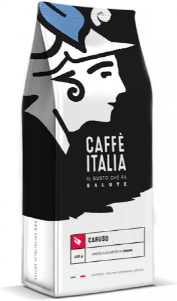 Caffè Italia Caruso Blend - originální Italská espresso směs - čerstvě pražená a pravidelně doplňovaná na sklad