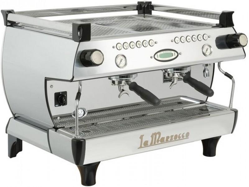 Nový profesionální kávovar La Marzocco GB 5 AV 2g Anniversary 90 White Color