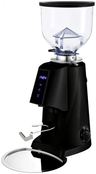 Profesionální přímý mlýnek na kávu Fiorenzato F4 E nano - barva černý lak lesklý