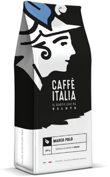 Caffè Italia Marco Polo Arabica Blend 100% - originální Italská espresso směs - čerstvě pražená a pravidelně doplňovaná na sklad