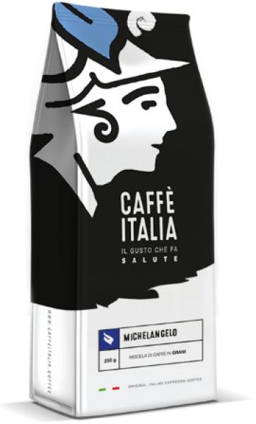 Caffè Italia Michelangelo Blend - originální Italská espresso směs - čerstvě pražená a pravidelně doplňovaná na sklad