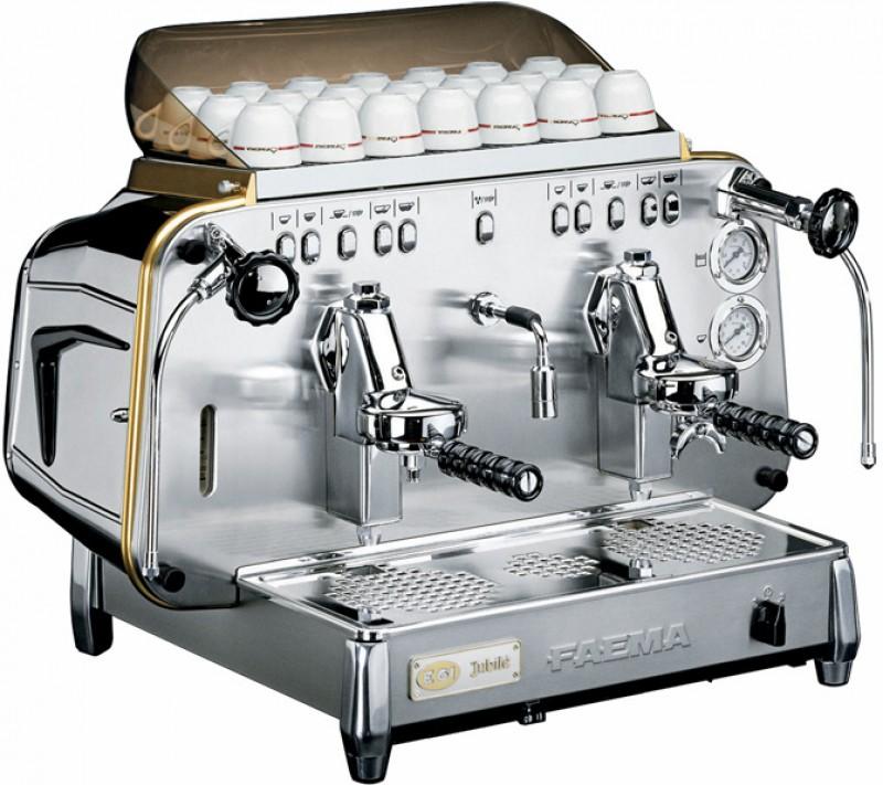 Profesionální kávovar Faema E61 Jubilé EVD 2gr