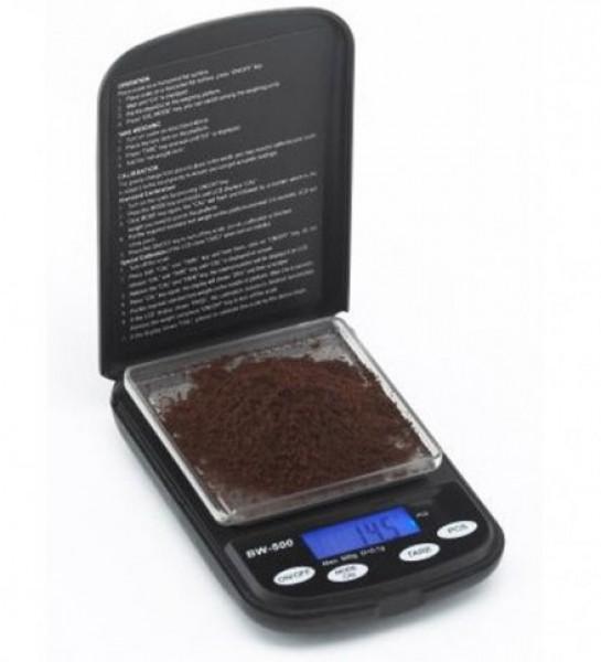 Digitální horizontální váha na kávu ConceptArt JOE FREX s váživostí 0g - 500g a přesností vážení 0,1g