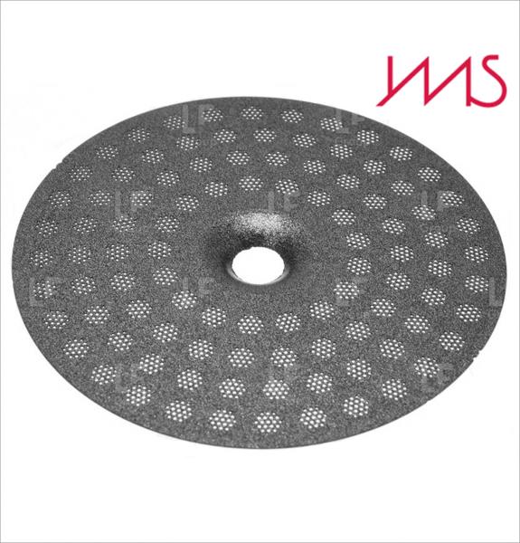 IMS CI 200 TC (PTFE Teflon Coated) precizní sítko sprchy hlavy kávovaru ø 51.5 mm se středovým otvorem 5mm, 98 otvorů ø 3mm, Aisi 301 Stainless Steel, Food Safe Certified, integrovaná membrána 200 µM