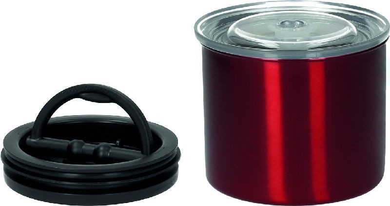 Vakuová dóza k uchování potravin s pístem Planetary Design AirScape® Candy Apple Red 850 ml