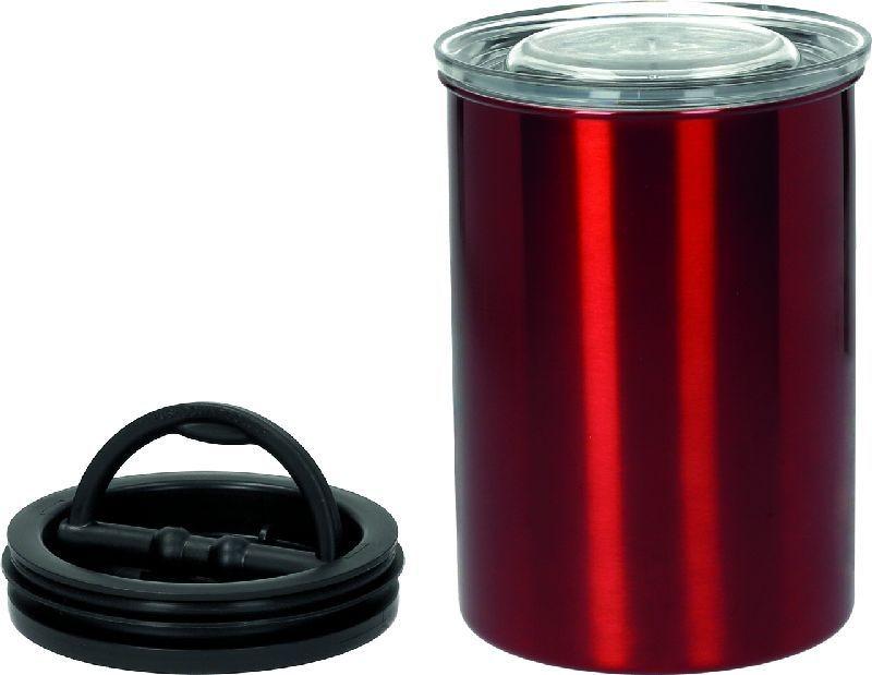 Vakuová dóza k uchování potravin s pístem Planetary Design AirScape® Candy Apple Red 1800 ml