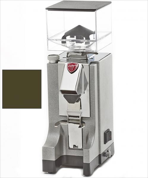 EUREKA Mignon Instantaneo - profesionální přímý mlýnek na kávu - barva Hnědá Marrone, verze manuál bez časovače