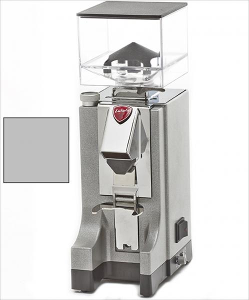 EUREKA Mignon Instantaneo - profesionální přímý mlýnek na kávu - barva Chromová Cromato, verze manuál bez časovače