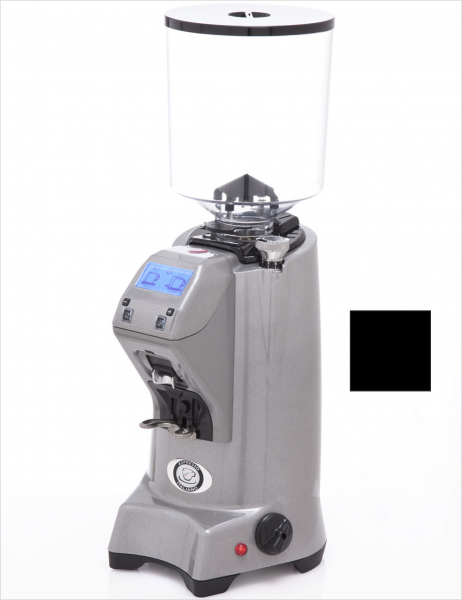 EUREKA ZENITH 65 E High-Speed - profesionální přímý mlýnek na kávu - barva Černá Nero opaco