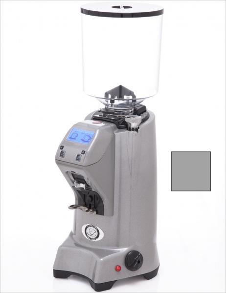 EUREKA ZENITH 65 E High-Speed - profesionální přímý mlýnek na kávu - barva Šedá metalická Grigio