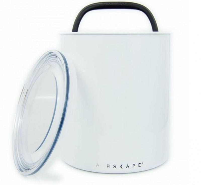 """Vakuová dóza k uchování potravin s pístem Planetary Design AirScape® Kilo 8"""" bílá"""
