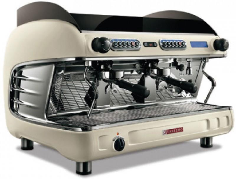 Profesionální kávovar SANREMO Verona SED2 2gr EVD Bianco Perla