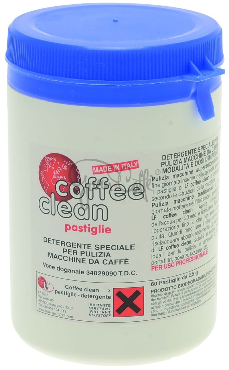 Detergent Coffee Clean Tablet 2,5g - tablety 60 ks v balení