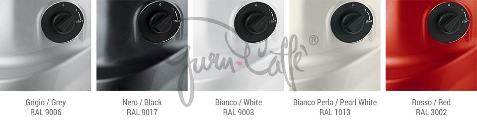 Profesionální přímý mlýnek na kávu Fiorenzato F4 E nano - barva stříbrný lak lesklý