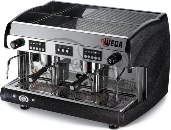 Profesionální kávovar WEGA Polaris EVD 2gr Display Black Pearl Metallic - nejlépe vybavená verze s displayem