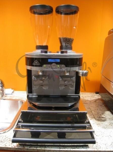 Odklepávací šuplíková nádoba na kávu  Concept-Art Joe FREX KNOCKBOX Exclusive L, materiál broušený nerez