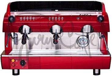 Profesionální kávovar Gaggia GD 2gr EVD Red Metallic