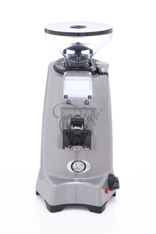 EUREKA ZENITH 65 E High-Speed - profesionální přímý mlýnek na kávu - barva Chromová Cromato