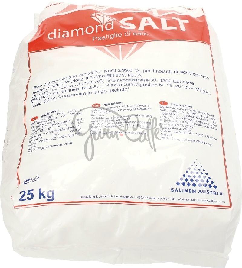 Regenerační sůl SALINEN Diamond Salt pro změkčovače vody v tabletách 25kg