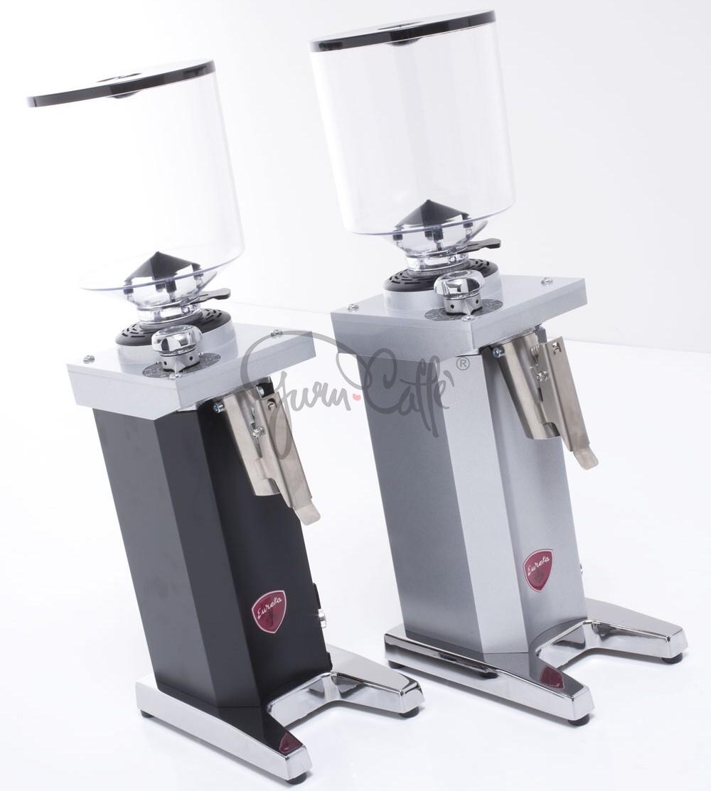 EUREKA Drogheria MCD4 75 Monofase - profesionální obchodní přímý mlýnek na kávu - barva Černá Nero opaco