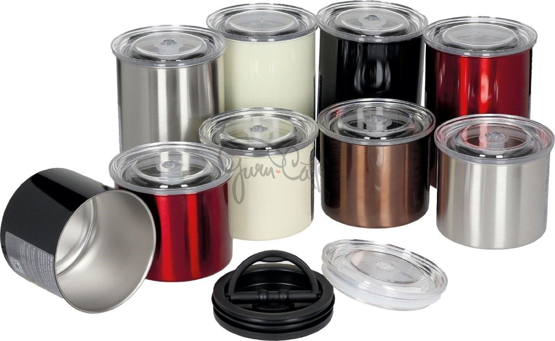 Vakuová dóza k uchování potravin s pístem Planetary Design AirScape® Brushed Stainless Steel 1800 ml