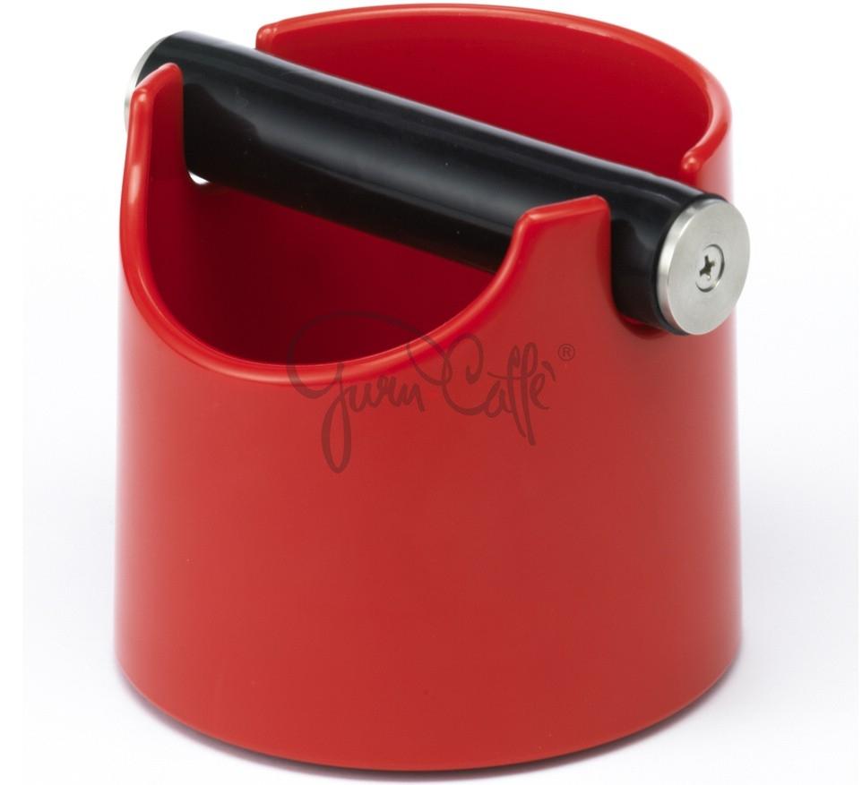 Odklepávací nádoba na kávu  Concept-Art Joe FREX KNOCKBOX Basic Red, materiál plast, barva červená