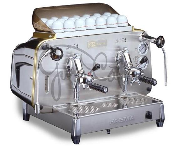 Profesionální kávovar Faema E61 LEGEND EPU 2gr - v provozu jen 8 měsíců!!