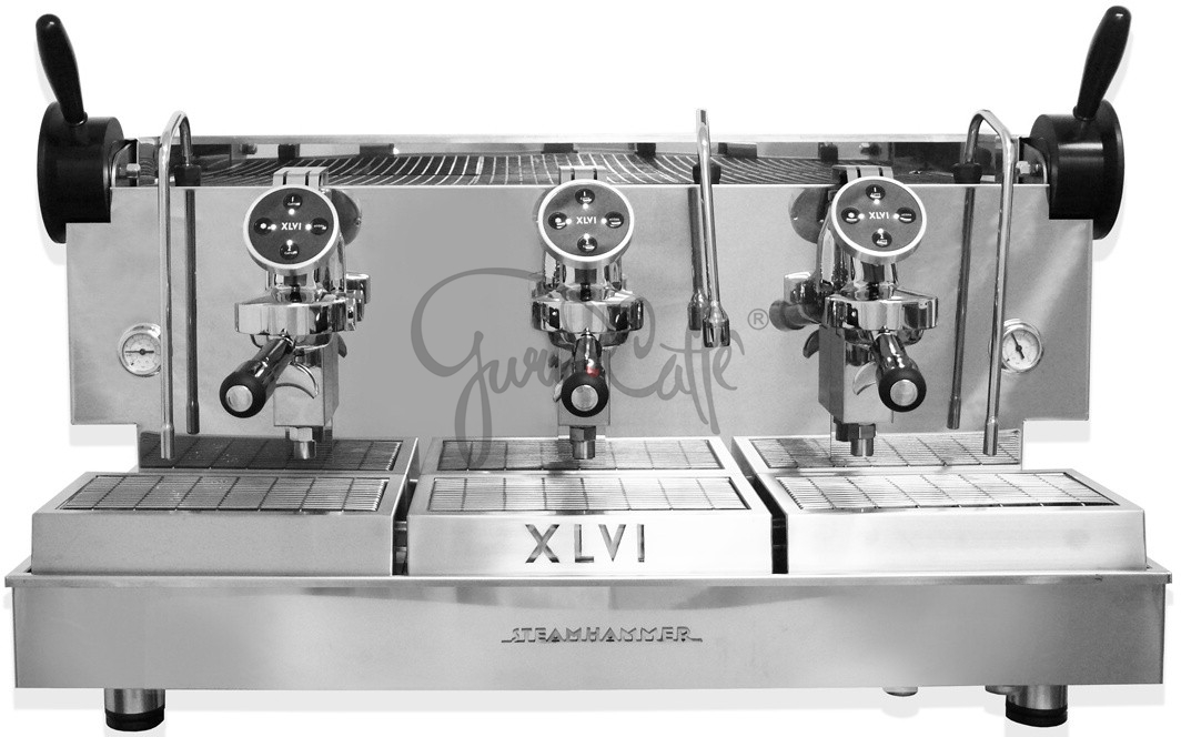 Profesionální kávovar XLVI Operai Del Vapore STEAMHAMMER HX 3gr Elettronica - Handmade