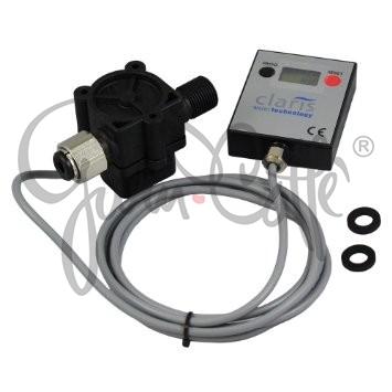 Claris Professional Filter Flowmeter - průtokoměr filtrace s digitálním displayem a připojením ø 3/8