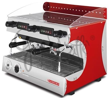 Profesionální kávovar SANREMO Capri Deluxe SAE 2 Red